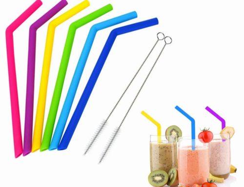 限制使用塑膠吸管後的替代品 — Silicone吸管